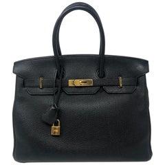 Hermès Birkin Black 35 GHW