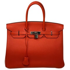 Hermes Birkin Capucine 35 Bag