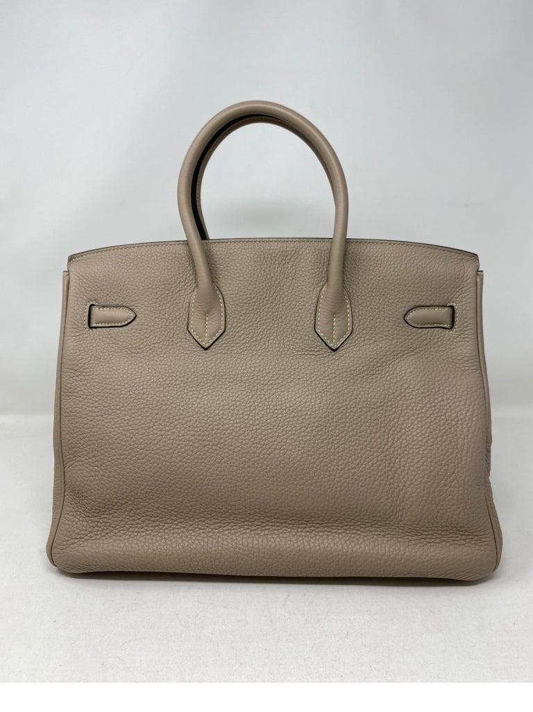 Women's or Men's Hermes Birkin Griss 35 For Sale