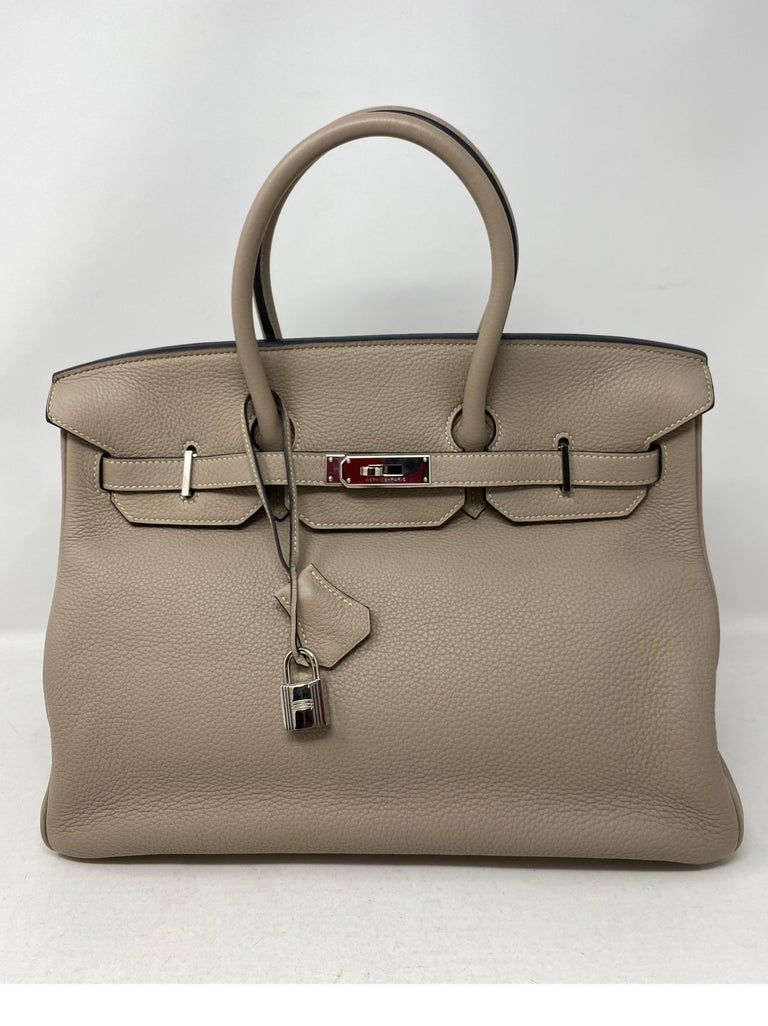 Hermes Birkin Griss 35 For Sale 1
