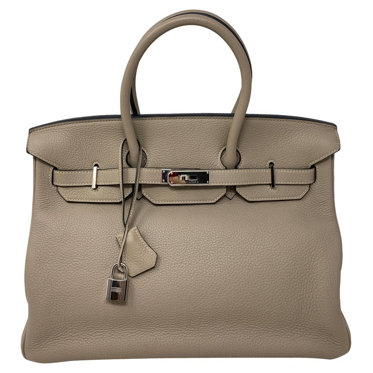 Hermes Birkin Griss 35 For Sale