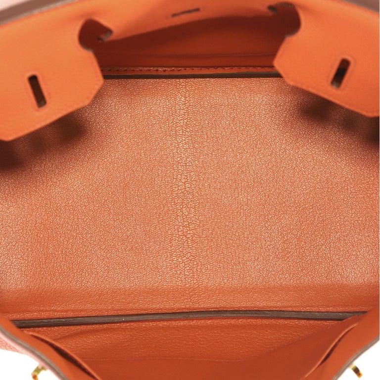 1619413423 Hermes Birkin Handbag Terre Battue Togo with Gold Hardware 30 For Sale 2