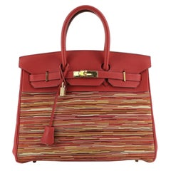 Hermes Birkin Handbag Vibrato and Togo 35