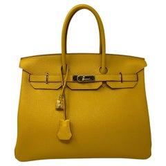 Hermès Birkin Jaune 35 Bag