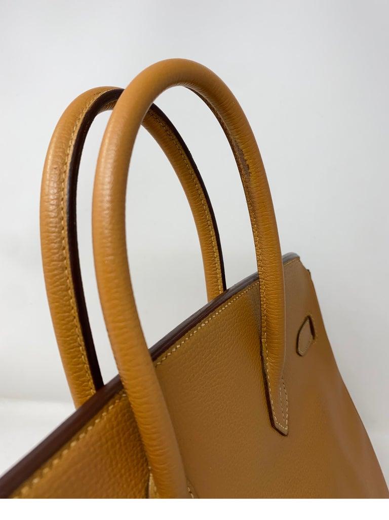 Hermes Birkin Natural 35 Bag  For Sale 7