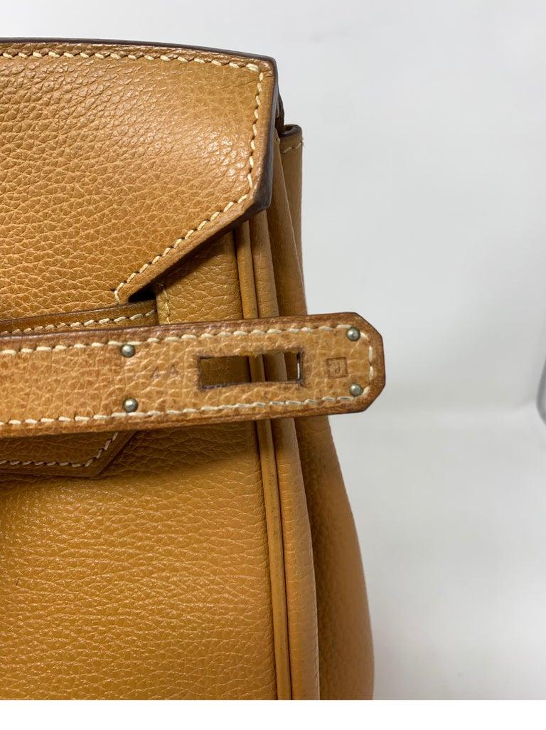 Hermes Birkin Natural 35 Bag  For Sale 11