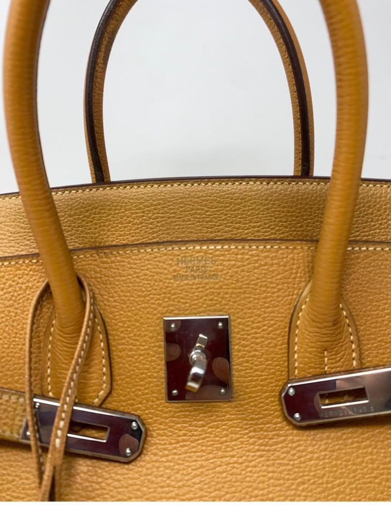 Hermes Birkin Natural 35 Bag  For Sale 12