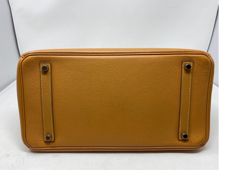Women's or Men's Hermes Birkin Natural 35 Bag  For Sale