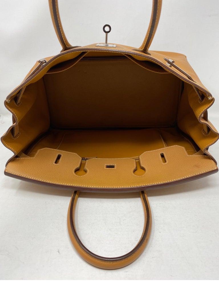 Hermes Birkin Natural 35 Bag  For Sale 1