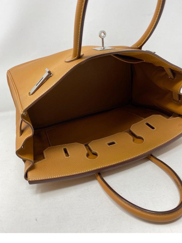 Hermes Birkin Natural 35 Bag  For Sale 2