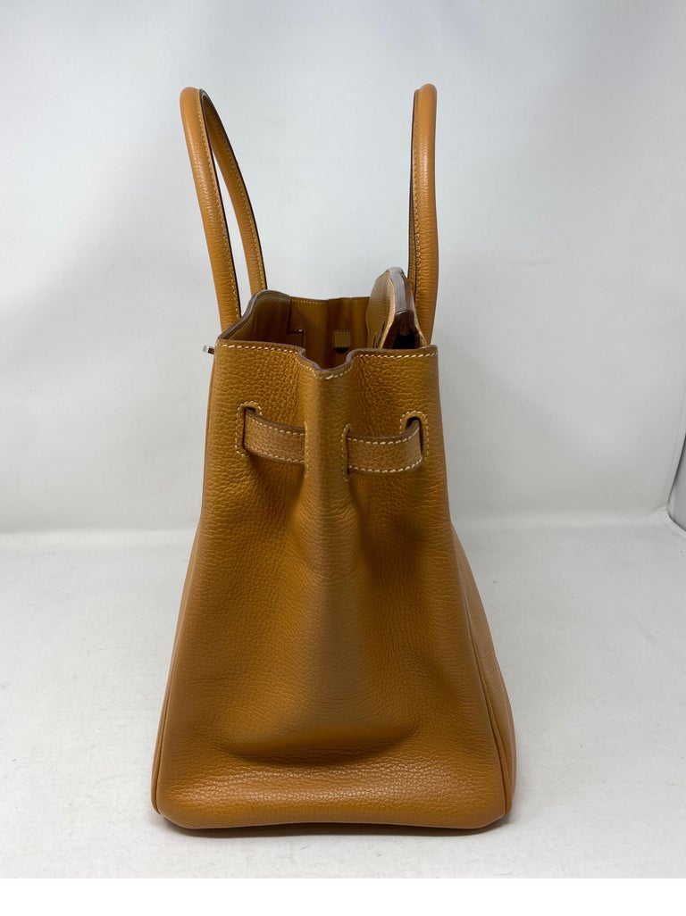 Hermes Birkin Natural 35 Bag  For Sale 3