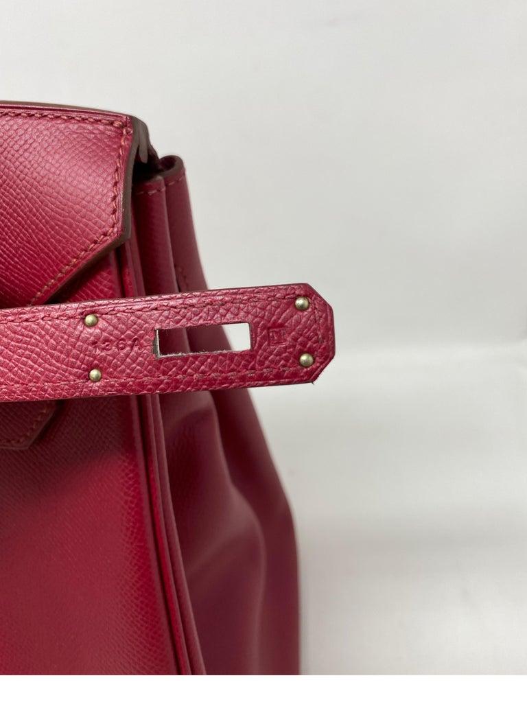 Hermes Birkin Rubis 35 Bag For Sale 8