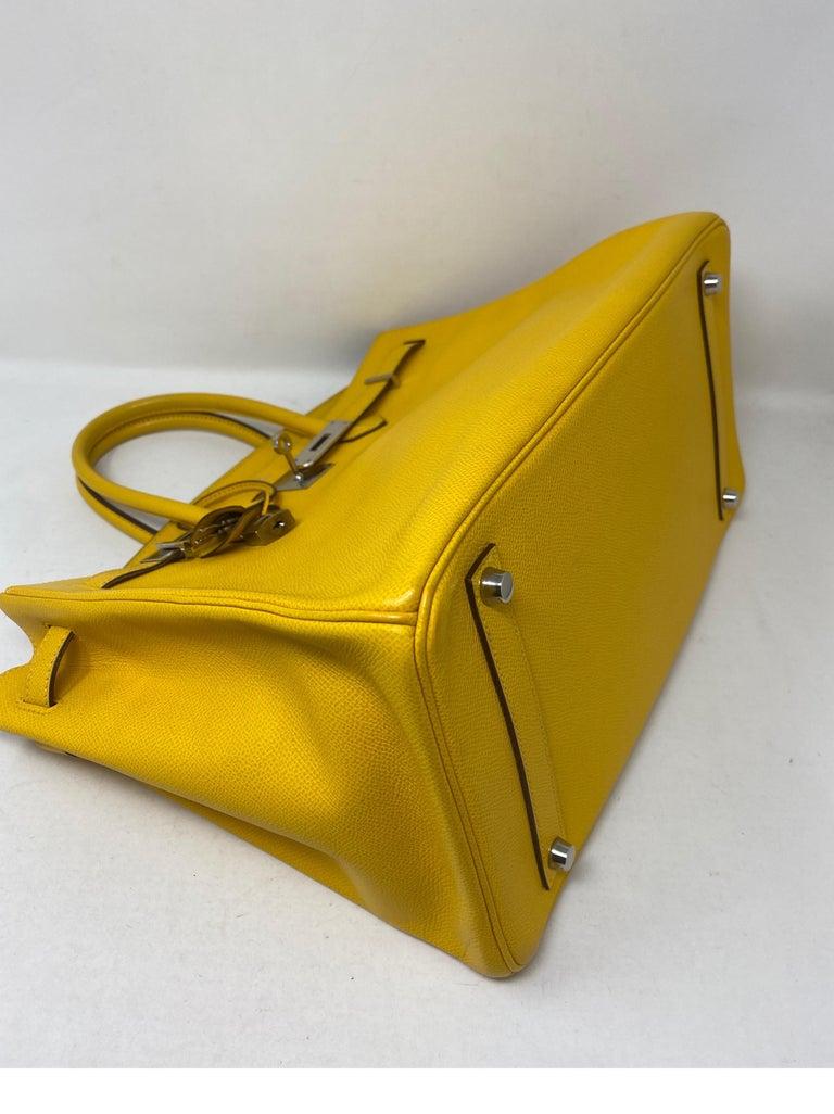 Hermes Birkin Soleil 35 Bag For Sale 5