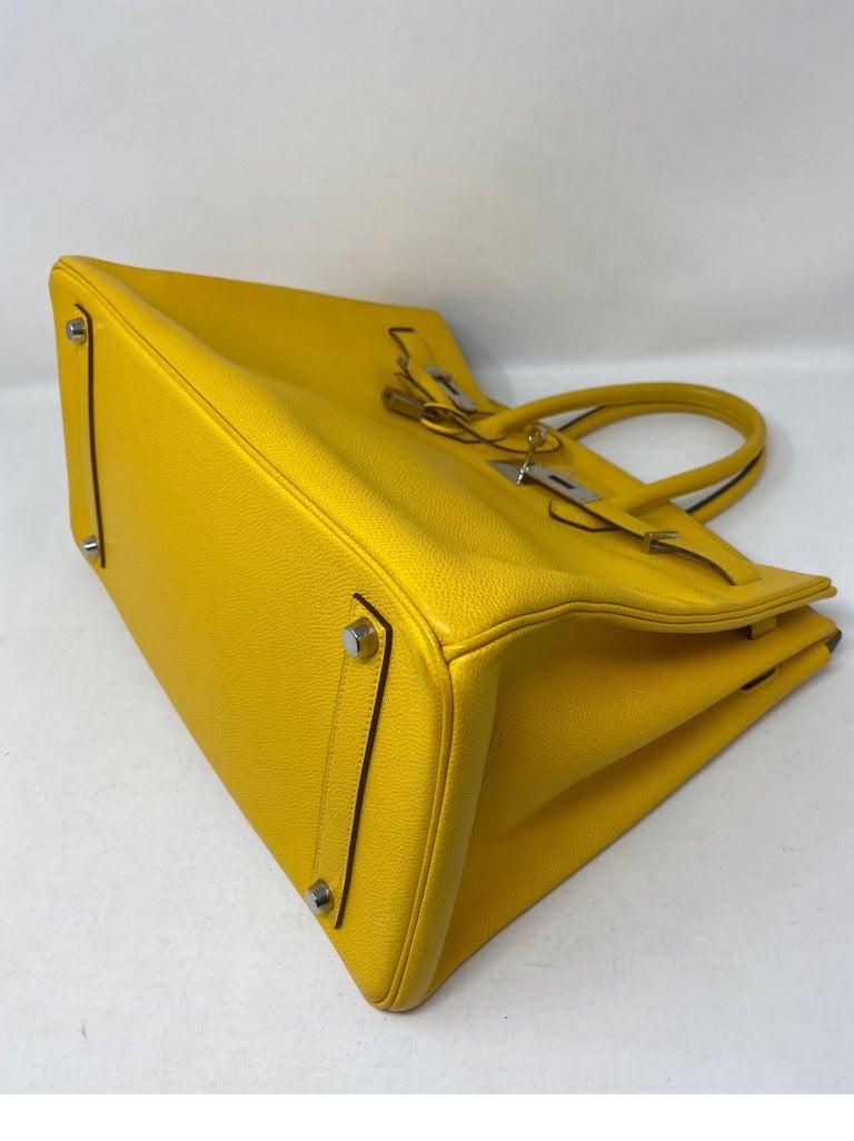 Hermes Birkin Soleil 35 Bag For Sale 6
