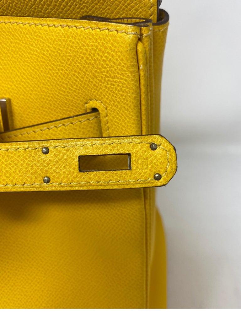 Hermes Birkin Soleil 35 Bag For Sale 7