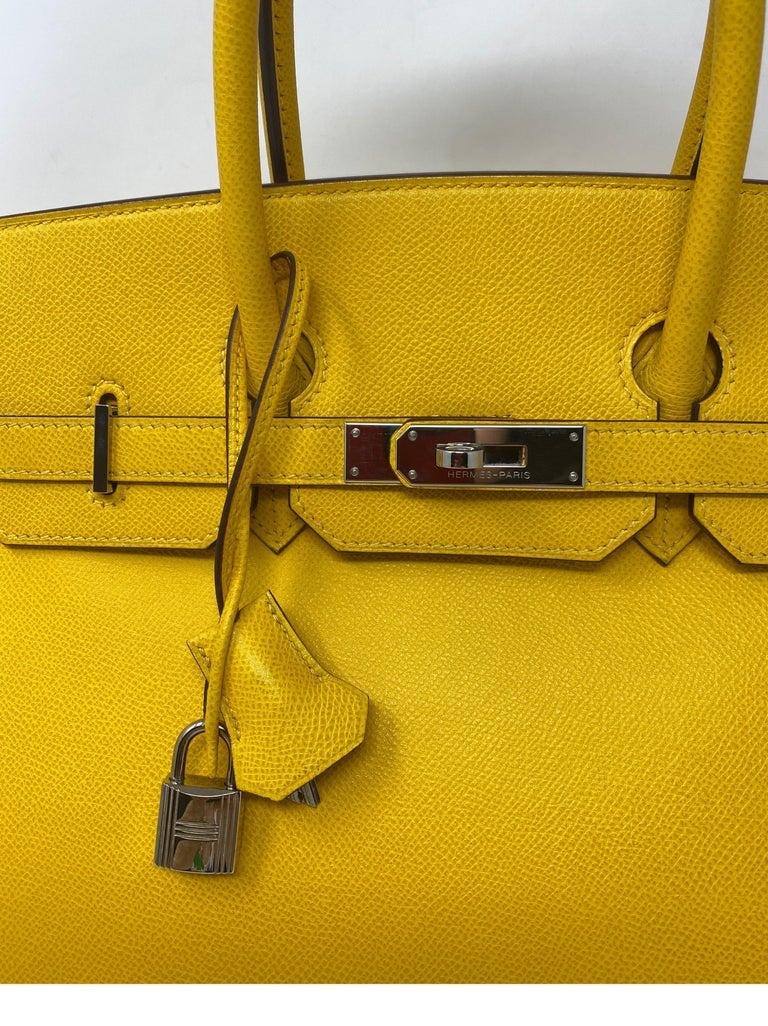 Hermes Birkin Soleil 35 Bag For Sale 8