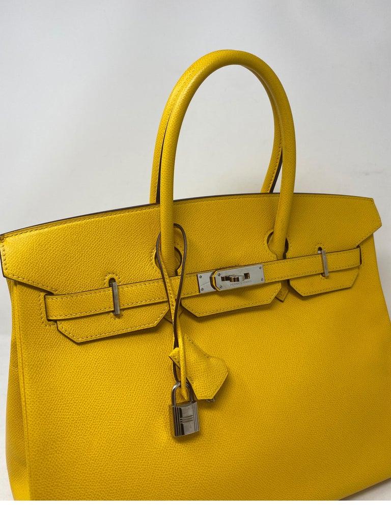 Hermes Birkin Soleil 35 Bag For Sale 9