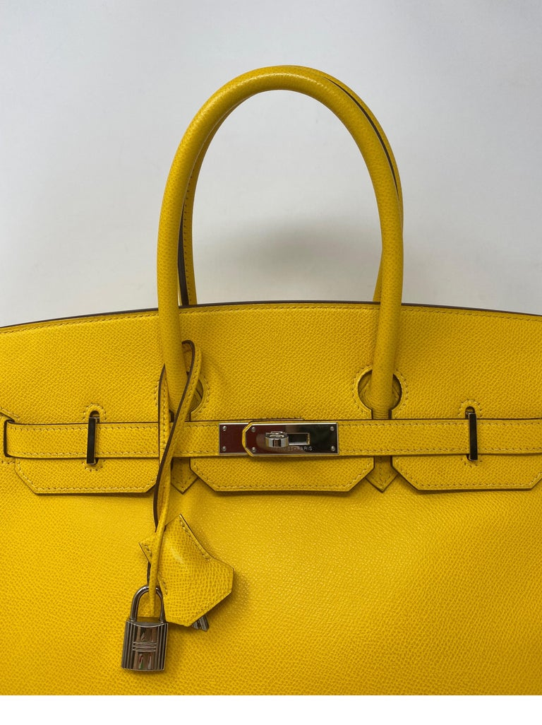 Hermes Birkin Soleil 35 Bag For Sale 10