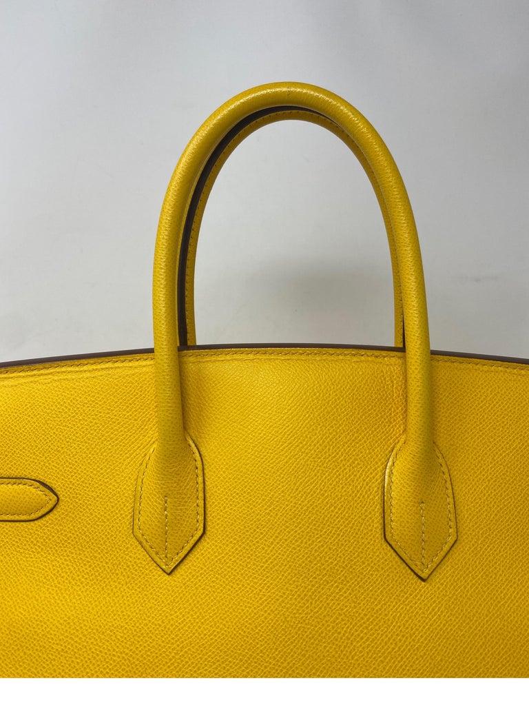 Hermes Birkin Soleil 35 Bag For Sale 11