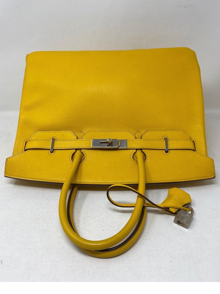 Hermes Birkin Soleil 35 Bag For Sale 12