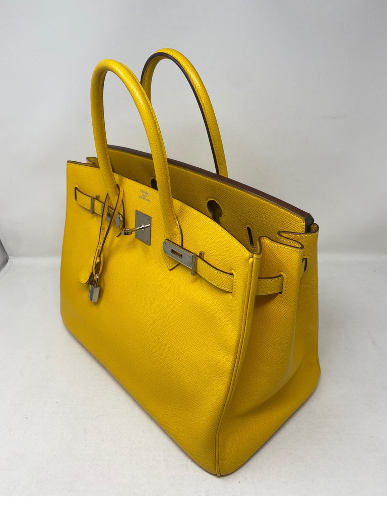 Women's or Men's Hermes Birkin Soleil 35 Bag For Sale