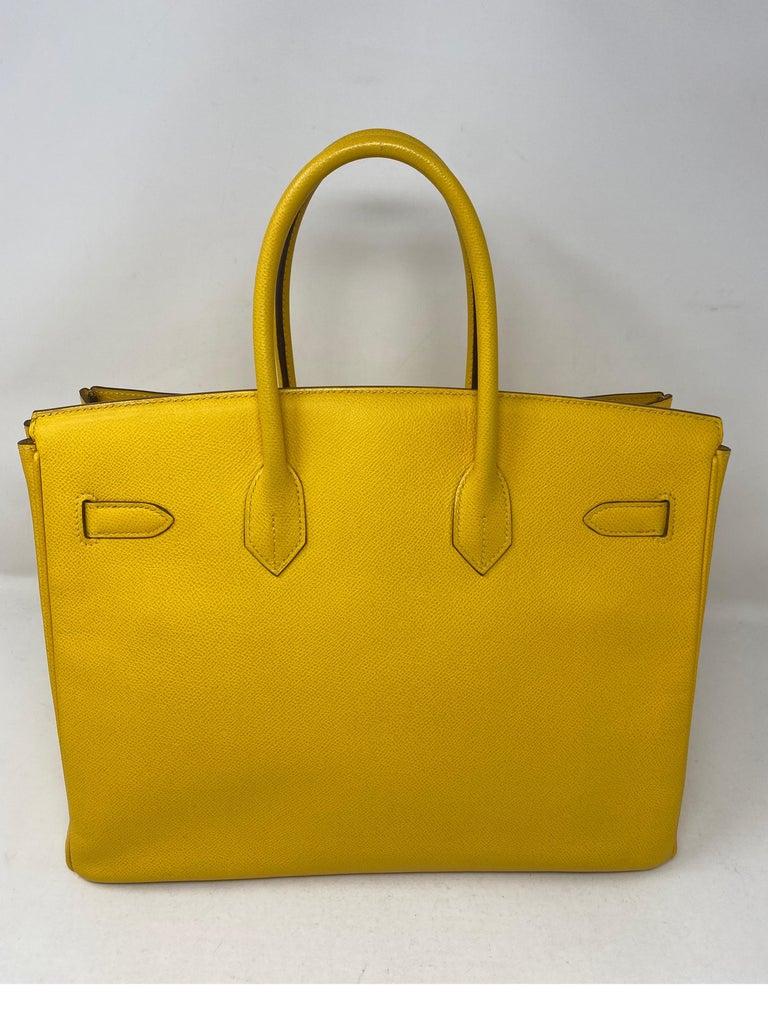 Hermes Birkin Soleil 35 Bag For Sale 1