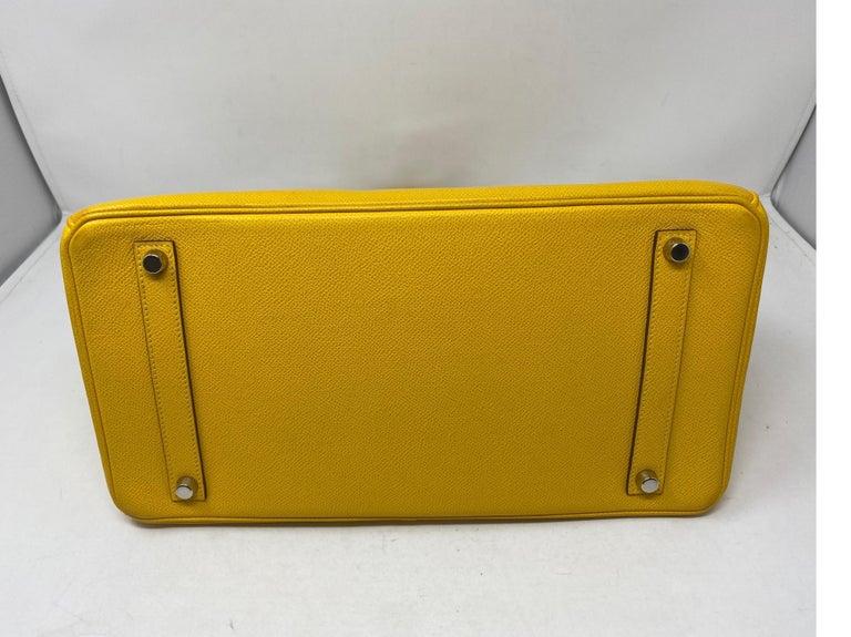 Hermes Birkin Soleil 35 Bag For Sale 4