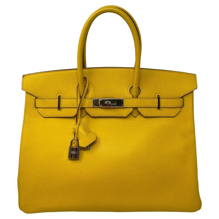 Hermes Birkin Soleil 35 Bag For Sale