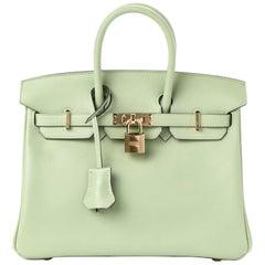 Hermès Birkin Swift 25 Vert Criquet