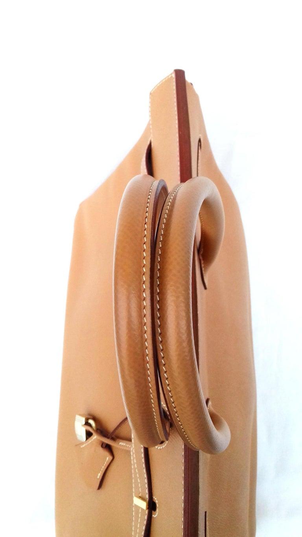 Hermès Birkin Top Handle Bag Naturel Epsom Leather Gold Hdw 35 cm For Sale 1