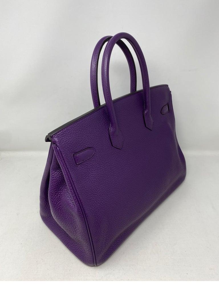 Hermes Birkin Ultraviolet 35 Bag For Sale 1