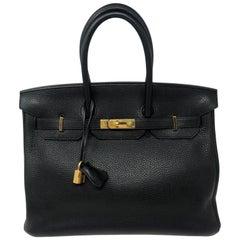 Hermes Black Birkin 35