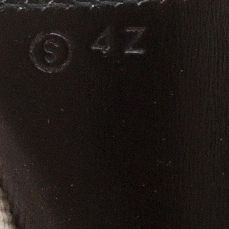 HERMES black Box leather JIGE 34 Clutch Bag For Sale 1