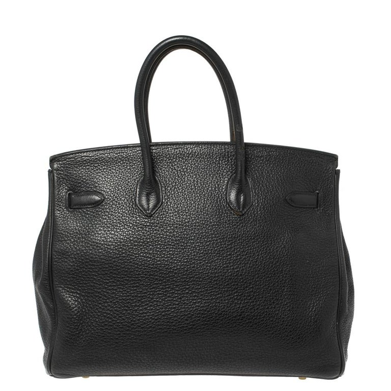 There is no better time to buy a Birkin than now. The iconic design is timeless, limited, and no less than a work of art. Here's a Birkin 35 just for you. Crafted in France from Clemence leather, the bag features dual top rolled handles and a