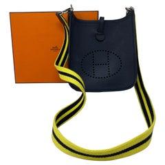 Hermes Black Evelyne TPM Bag