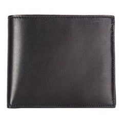 HERMES black Eversoft leather MC2 COPERNIC Men's Wallet