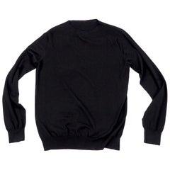 Hermes - Black Fine Wool Sweater