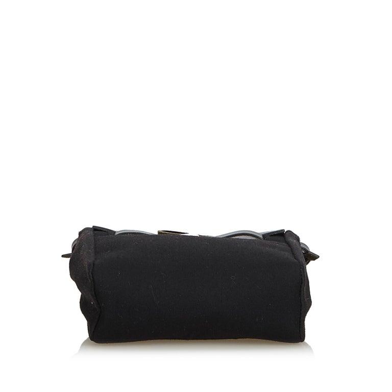 Women's Hermes Black Herbag TPM For Sale