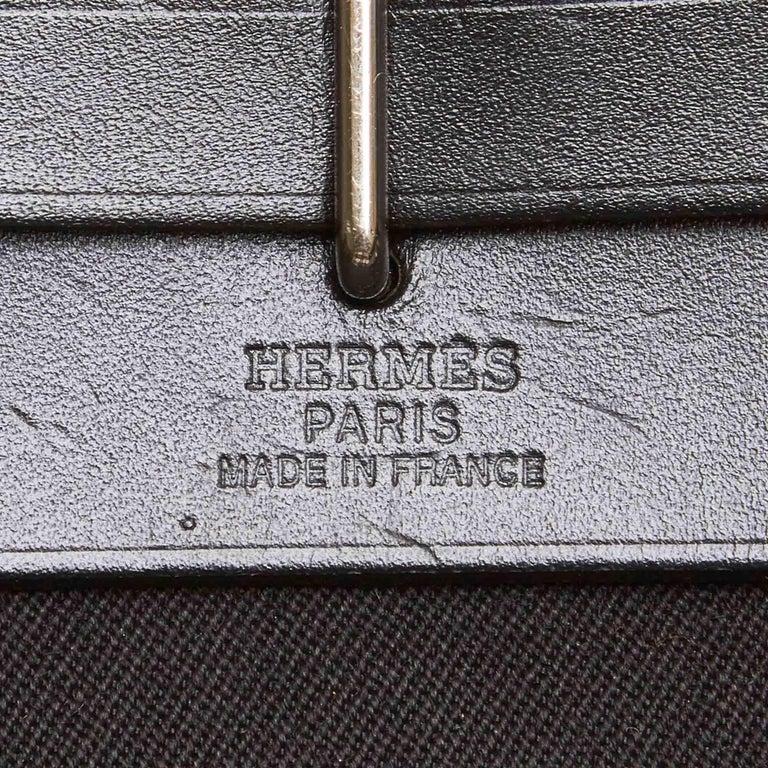 Hermes Black Herbag TPM For Sale 2