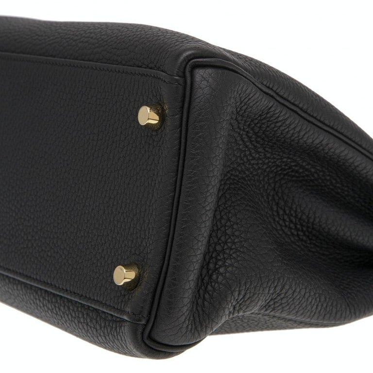 Hermès black Kelly 32  2