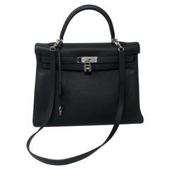 Hermes Black Kelly 35
