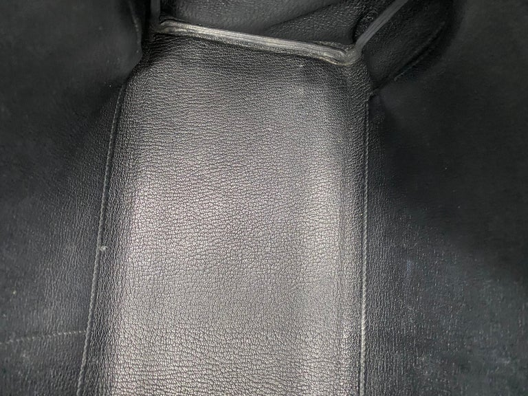 Hermès Black Kelly 35 with Gold Hardware 15