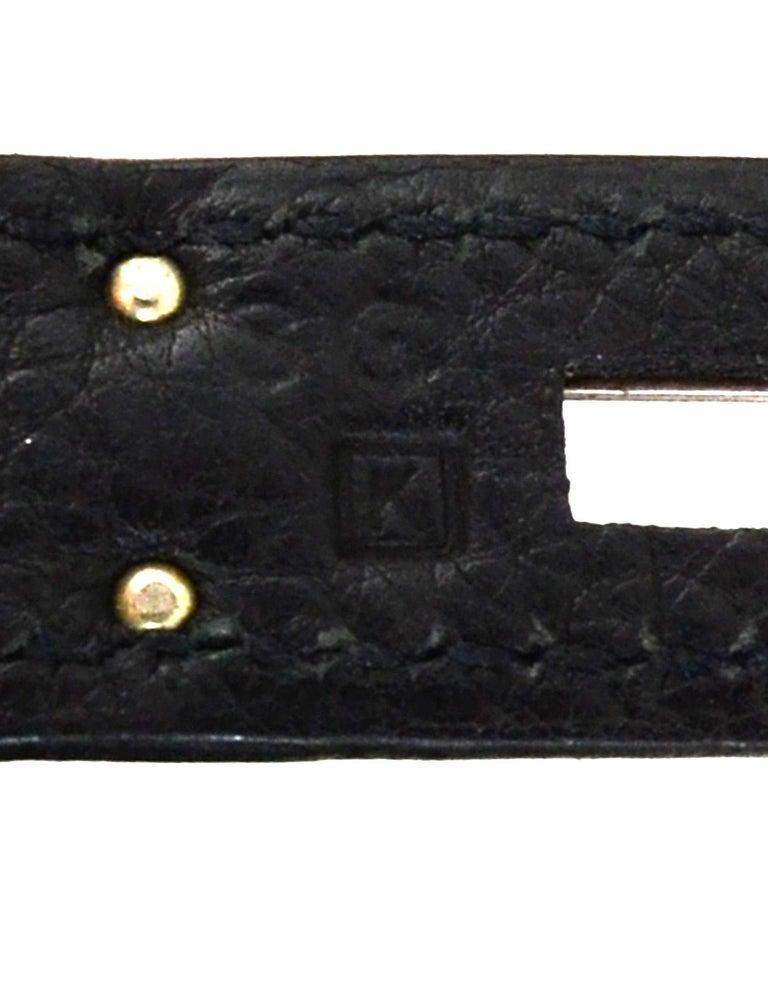 Hermes Black Togo Leather 30CM Birkin Bag w. Palladium/Silvertone Hardware 4