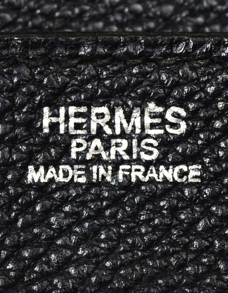 Hermes Black Togo Leather 30cm Birkin Bag W/ PHW 3