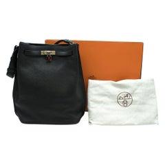 Hermes Black Togo Leather So Kelly 26