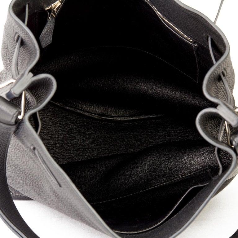 Hermès Black Togo Leather So Kelly 26cm For Sale 6