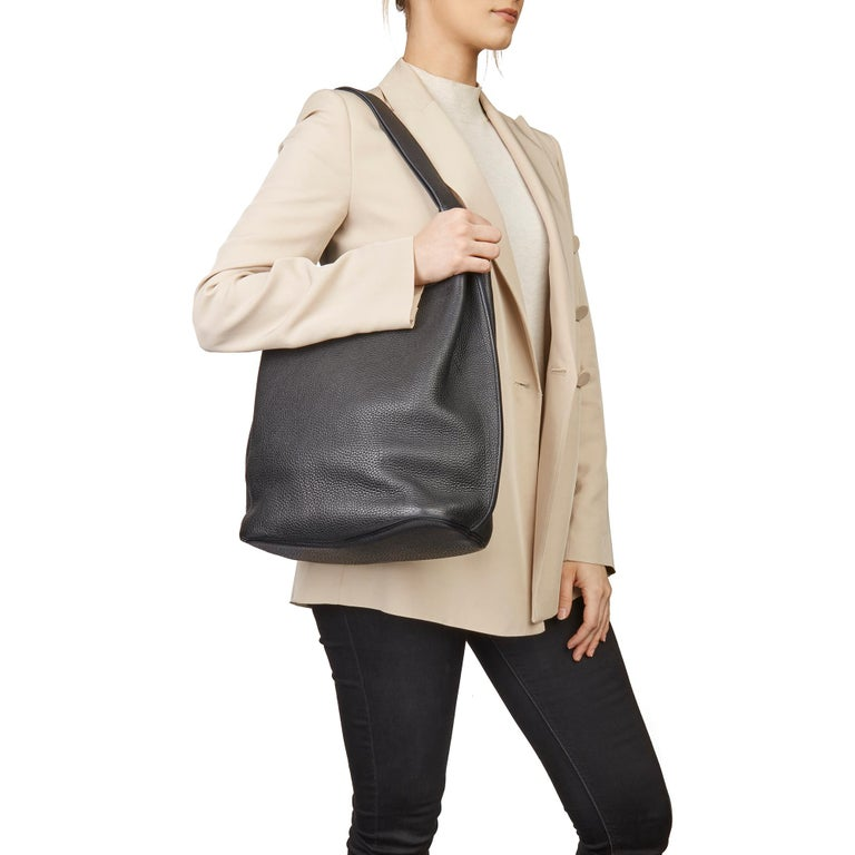 Hermès Black Togo Leather So Kelly 26cm For Sale 9