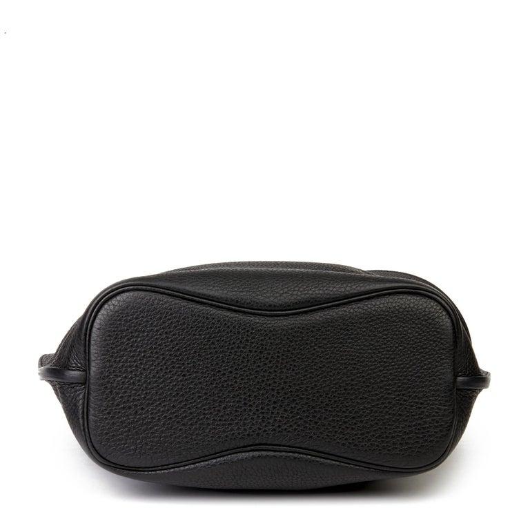 Hermès Black Togo Leather So Kelly 26cm For Sale 1