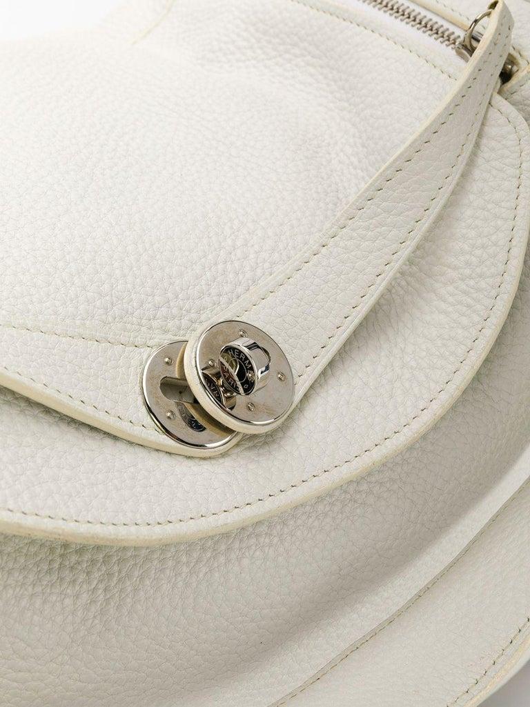 Women's Hermes Blanc White 34cm Lindy Bag For Sale