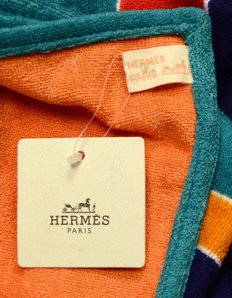 Orange Hermes Bleu Outremer